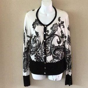 White House Black Market L sweater